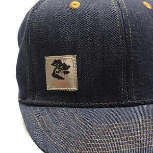 14oz TEXAS Denim Snapback HAT Workman Label