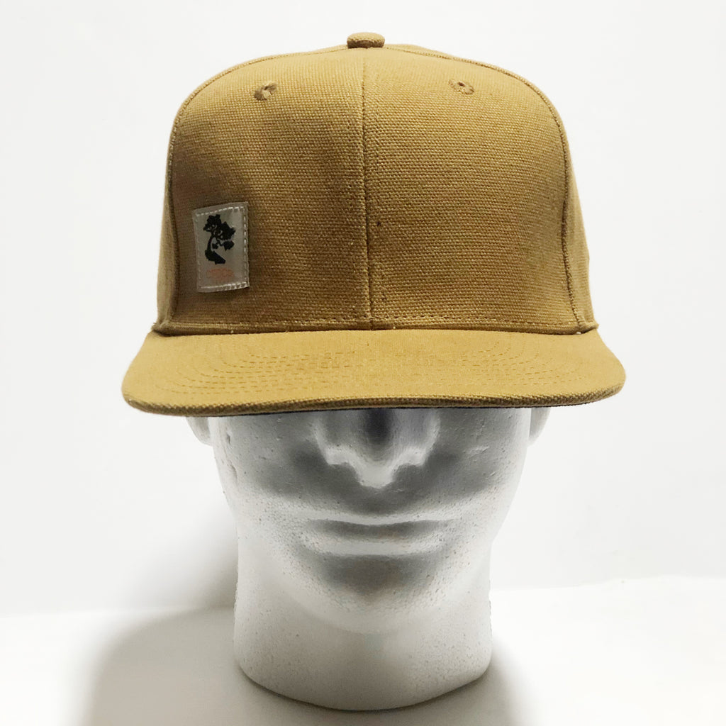 15oz USA Duck Canvas Snapback HAT Workman Label