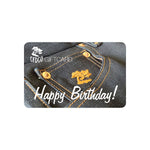 Gift Card- Happy Birthday