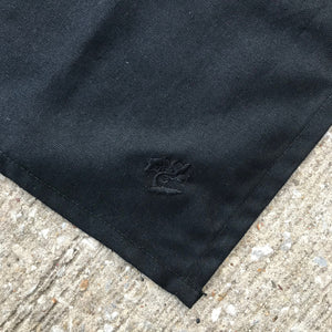 100% Cotton Handkerchief USA Duck Canvas Black 27.5 x 27.5 CFDCo