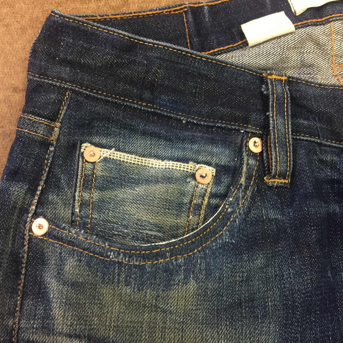 DENIM Repair. Pocket Repair