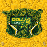 Dolla$ Texas Mask