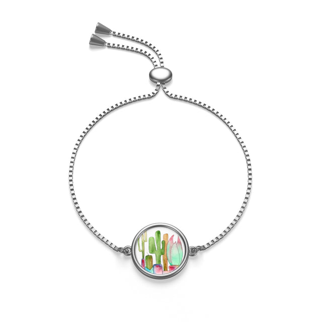 Cactus Family G Box Chain Bracelet, Accessories - Gravitational Pull Art