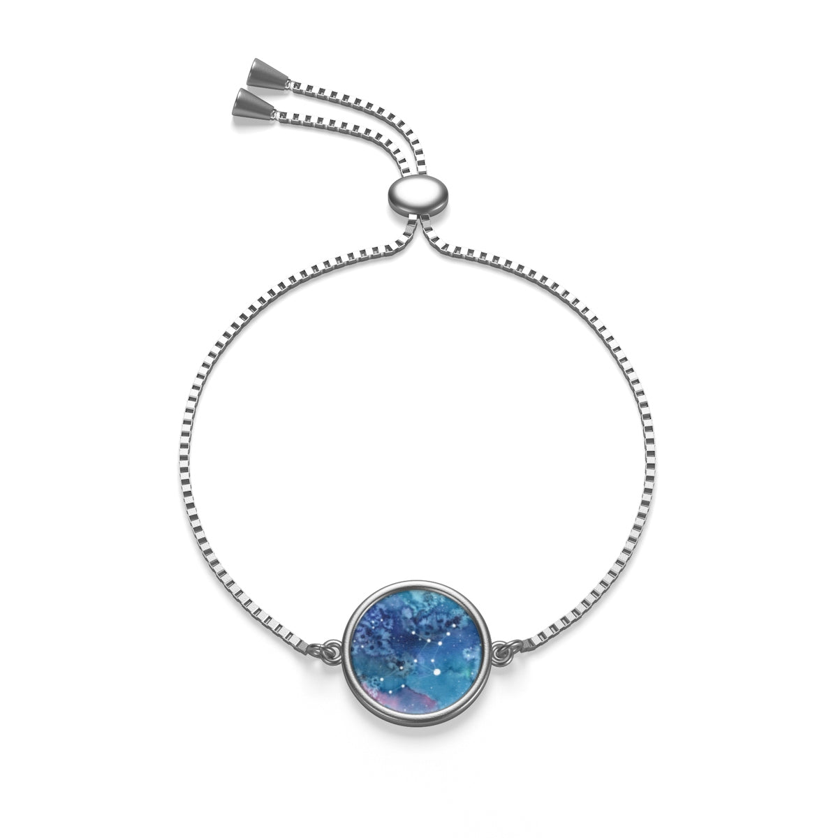 Virgo Box Chain Bracelet, Accessories - Gravitational Pull Art
