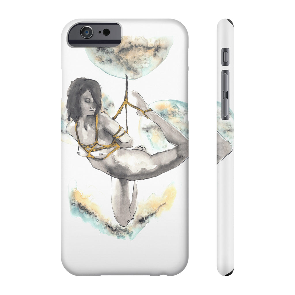 Cloud Creature Slim Iphone 6/6s, Phone Case - Gravitational Pull Art