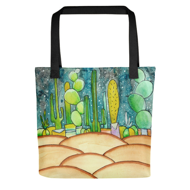 Arizona Desert Watercolour Tote Bag,  - Gravitational Pull Art