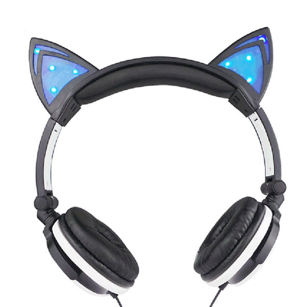 Glow-Cat Headphones