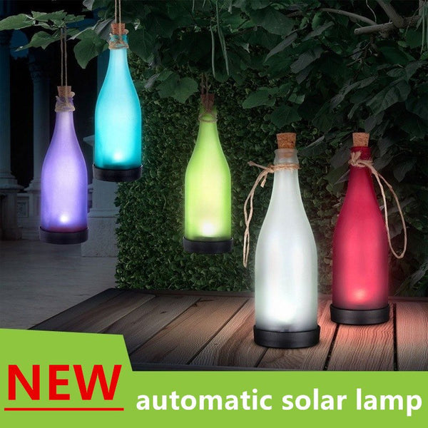 Home & Garden - Solar-Power Bottle Light