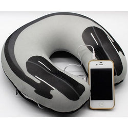 Music Travel Pillow