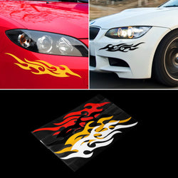 Badass Fire Decal