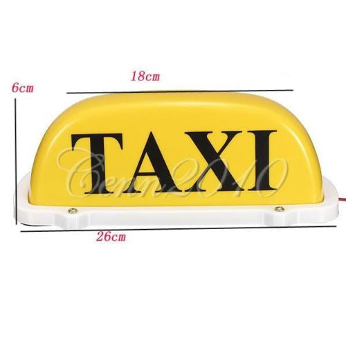 Fake Taxi Sign