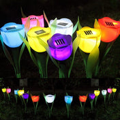 Solar-Power Flower Light