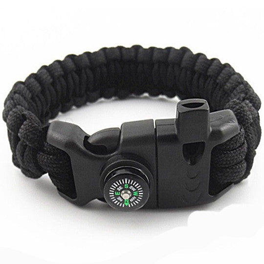 Survival Bracelet With Fire Starter