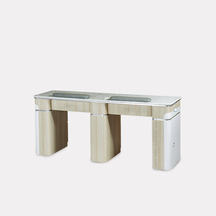 I Double Nail Table w/Pipe - 68 7/8