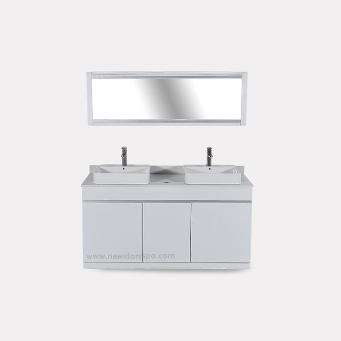 V-Double Sink (W/Faucets) - New Star Spa & Furniture