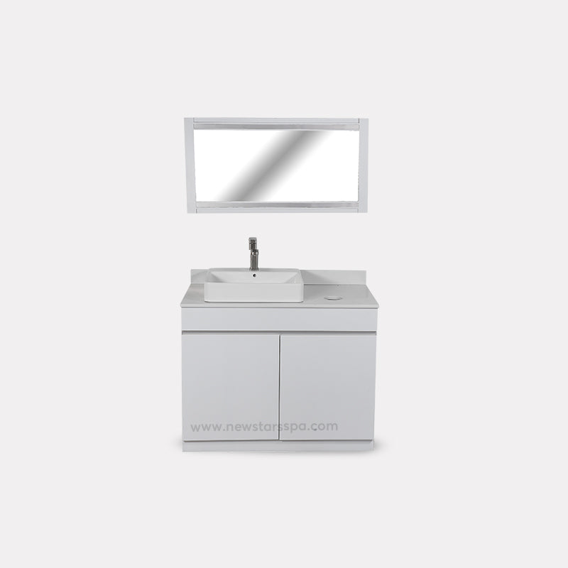 V-Single Sink (W/Faucet) - New Star Spa & Furniture