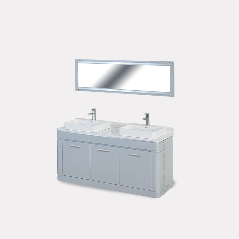 V2 Double Sink (W/Faucets) - New Star Spa & Furniture