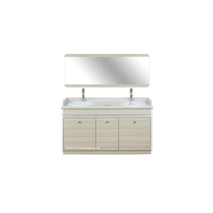 "I Double Sink With Faucets - 55"" (517) - New Star Spa & Furniture"