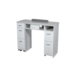 "SW Nail Table 42"" - New Star Spa & Furniture"
