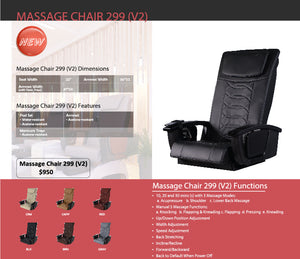 Pedicure Massage Chair NS-299 (v2) - New Star Spa & Furniture