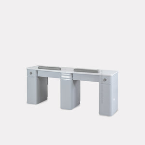 "V2 Double Nail Table 69 1/4"" - New Star Spa & Furniture"