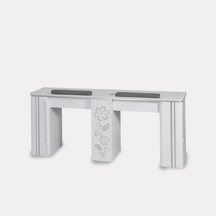 V-Double Nail Table - New Star Spa & Furniture