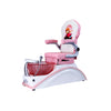 IQ Mini - Pink/White Tub & Pink Sink with Anna Chair - New Star Spa & Furniture