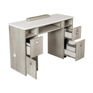 "XO Nail Table 43"" - New Star Spa & Furniture"