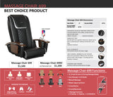 Pedicure Massage Chair NS-699D - New Star Spa & Furniture