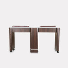 "Load image into Gallery viewer, YC Double Nail Table 59 1/4"" - New Star Spa & Furniture"
