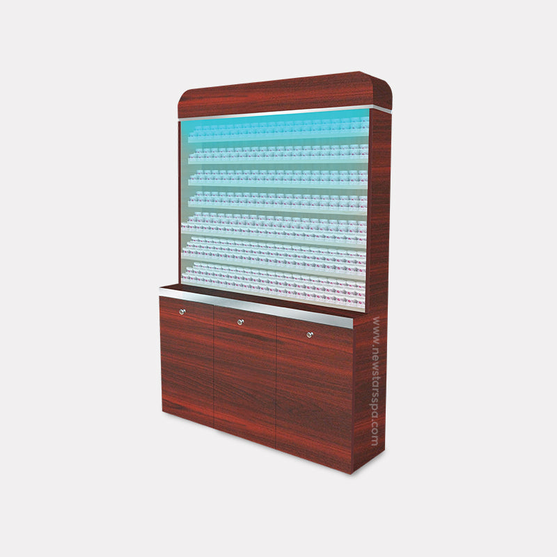 I Powder Rack With Powder Cabinet - 48