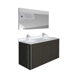 "IQ DOUBLE SINK - 60"" - New Star Spa & Furniture"