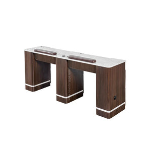 "YC Double Nail Table 71 3/4"" - New Star Spa & Furniture"