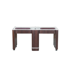 "YC Double Nail Table 59 1/4"" - New Star Spa & Furniture"