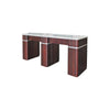 "Q Double Nail Table 72 1/2"" - New Star Spa & Furniture"