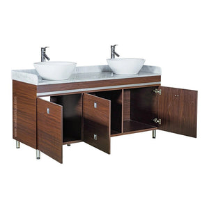 """B"" Double Sink With Faucets - New Star Spa & Furniture"