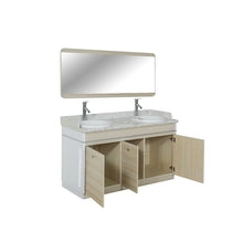 "Load image into Gallery viewer, I Double Sink With Faucets - 55"" (517) - New Star Spa & Furniture"