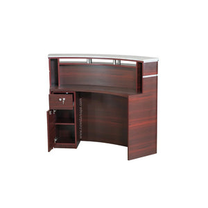 "I Reception B Curve - 58"" (90) - New Star Spa & Furniture"