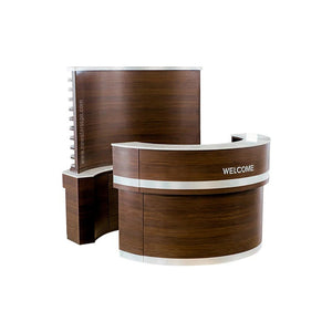 """C"" Back Wall & ""C1"" Reception (Set) - New Star Spa & Furniture"