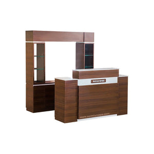 """DS"" Back Wall & ""IT"" Reception (Set) - New Star Spa & Furniture"