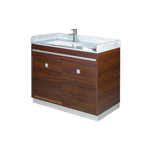 """U"" Single Sink With Faucet - New Star Spa & Furniture"