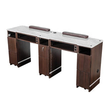"Load image into Gallery viewer, YC Double Nail Table 71 3/4"" - New Star Spa & Furniture"