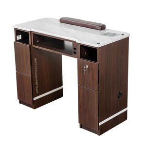 "YC Nail Table 41"" With Fan - New Star Spa & Furniture"