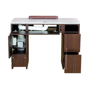"YC Nail Table 41"" With Vent - New Star Spa & Furniture"