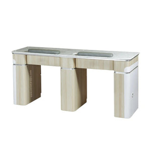 "I Double Nail Table - 68 7/8"" (517) - New Star Spa & Furniture"