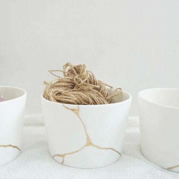Kintsugi-inspired Catch-all Bowl