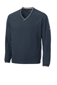 Nike V-Neck Wind Shirt-Panther Embroidery