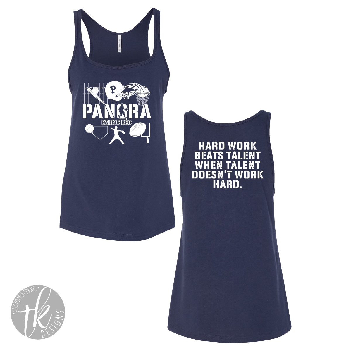 Parks & Rec Womans Relaxed Jersey Tank