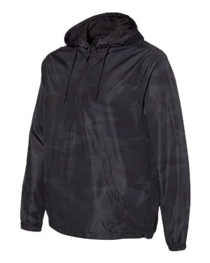 TK569 Lightweight Windbreaker Pullover Jacket