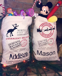 Santa Sacks--Customized